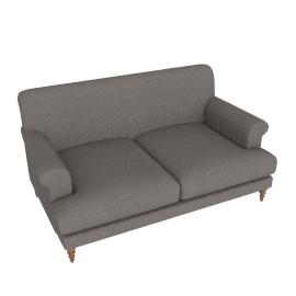 Oscar Formal 2 Seater Sofa, Kvadrat Molly