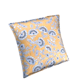 Mabella Cushion, Gold / Blue