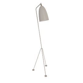 Grasshopper Floor Lamp, Putty