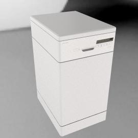 JLDWW906 Slimline Dishwasher, White