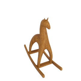 Wooden Rocking Horse, Large
