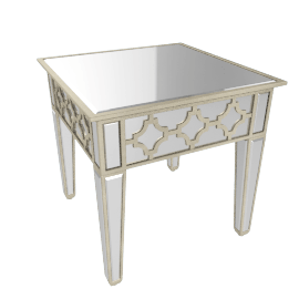 Casablanca Decorative New End Table
