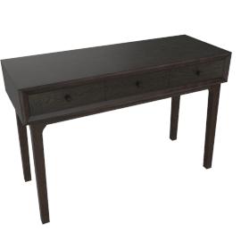 Lyra Dressing Table, Dark Brown