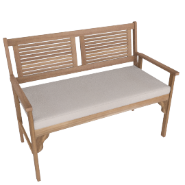 Lazy Saturday folding bench , Brown