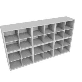 Forma Open Shelving, Light Grey