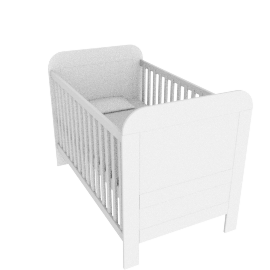 Arabella Cotbed, White