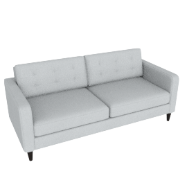 Lenon 3-Seater Sofa, Grey