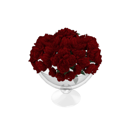 Bloom Red Christmas Centrepiece