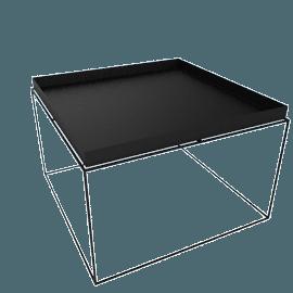 Tray Coffee Table, Black