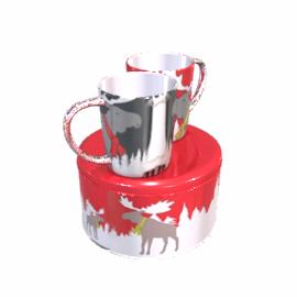 Moose Mug Set