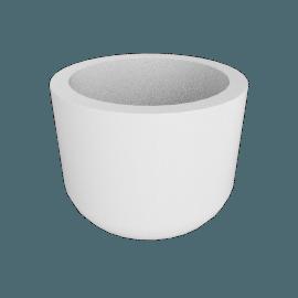 Cup Planter L, White