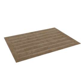 Supreme Drylon Bath Mat - 65x90 cms, Brown