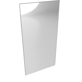Mondrian Mirror 48x96
