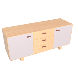 Boundary Sideboard, Warm Grey