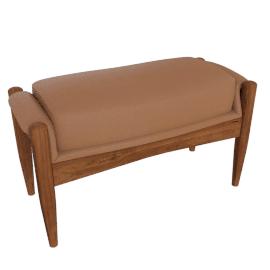 Seal Chair Footstool, Black
