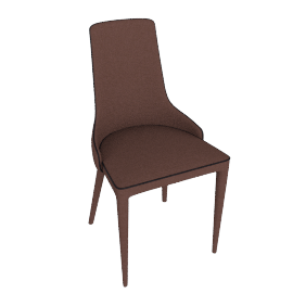 danform - MARS CHAIR, brown