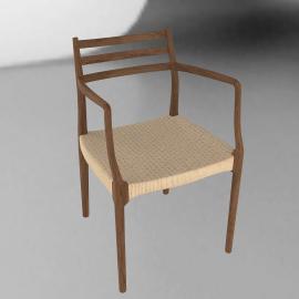 Moller Armchair 62 - Woven