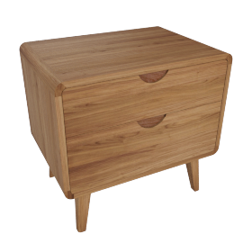 Laurel Night Stand - Walnut