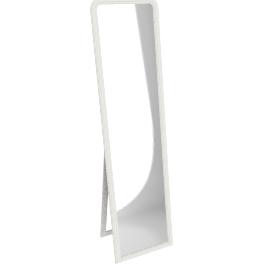 Brissi Florida Tall Mirror, 170 x 46cm, White
