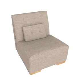 Strauss Chair Bed, Rivoli Mocha