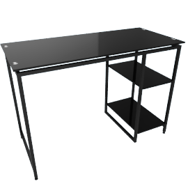Parson 2-Shelf Desk