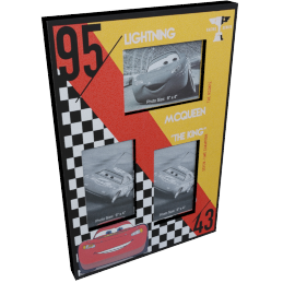 Disney Cars Multi Aperture Photo Frame - 6x4 inches