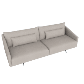 Costura Sofa, Dove, Boucle