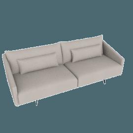 Costura Sofa, Dove, Boucle