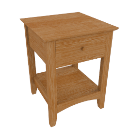Alba Lamp Table
