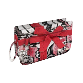 Ted Baker Janet Chinoise Cosmetic Bag Set, Red/Black/White