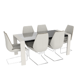 Atler 6-seater Dining Set