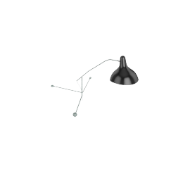 Mantis BS2 Wall Lamp, Grey Green
