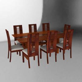 Basement Home Juego de comedor 8 sillas Diva 190 x 110