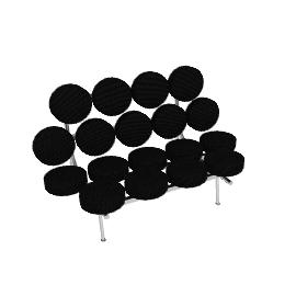 Nelson Marshmallow Sofa - Crepe