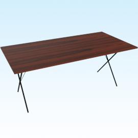 Nelson X-Leg Table, Palisander Black