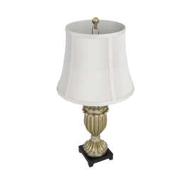 Alphard Resin Table Lamp-81Cmh- Light Gold