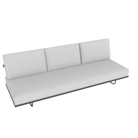 LC5.F Three-Seat Sofa
