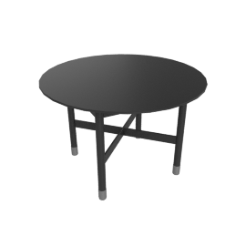 Sommer Side Table, Black