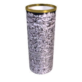 gerusalemme cylinder umbrella stands by fornasetti