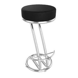 Z Bar Stool, Black