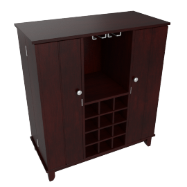 McAllen Bar Table with Storage