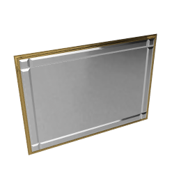 Milano Gilt Wall Mirror, Gold