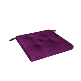 Mabel Chair Pad, Purple