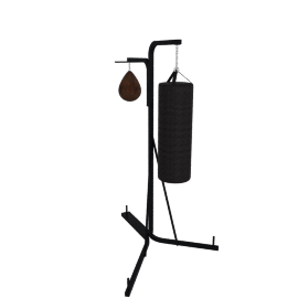 Boxing Stand with Speedball and Punch Bag