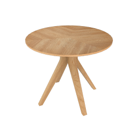 Radar 4 Seater Round Dining Table