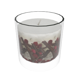 Berry Gel Candle in a Jar, Large, H12cm