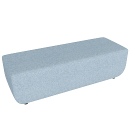 Softbench Long, Light Blue