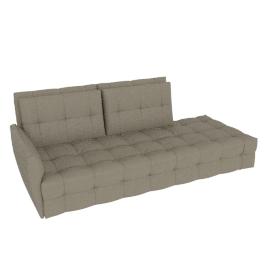 DUVET 2 Seater with 1 armrest (LH)