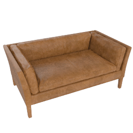 John Lewis Groucho Small Leather Sofa