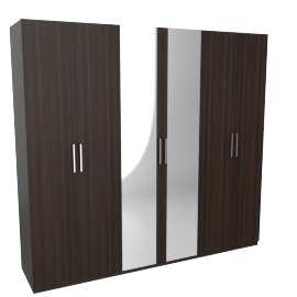 Weston 6-Door Wardrobe